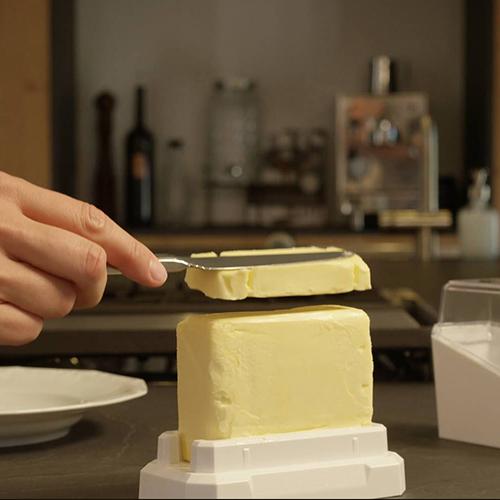 Die Butter kann restlos verwendet werden